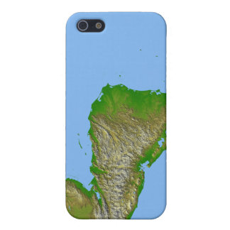 Topographic view of Central America Case For iPhone SE/5/5s