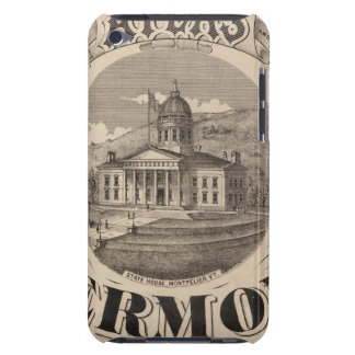 Topographical atlas barely there iPod case