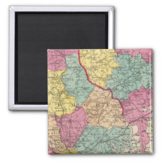Topographical atlas of Maryland counties 3 Magnet