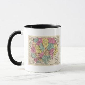 Topographical atlas of Maryland counties 3 Mug