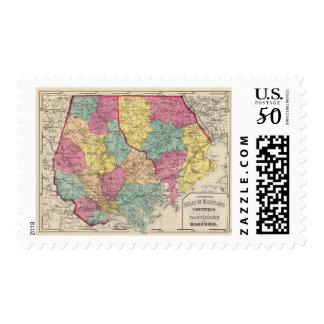 Topographical atlas of Maryland counties 3 Postage