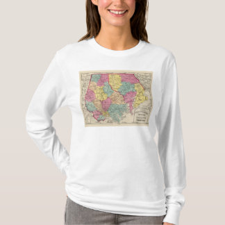 Topographical atlas of Maryland counties 3 T-Shirt