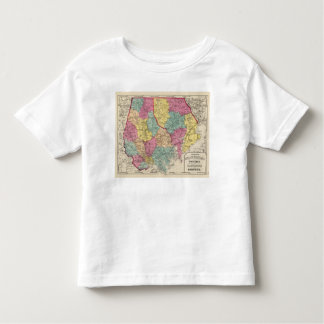 Topographical atlas of Maryland counties 3 Toddler T-shirt