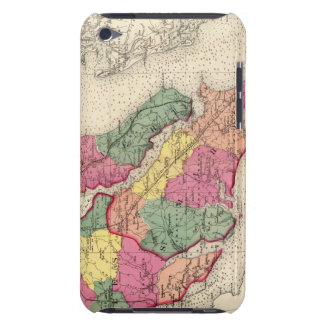 Topographical atlas of Maryland counties 6 Barely There iPod Case