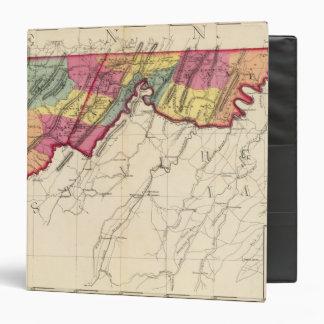 Topographical atlas of Maryland counties Binder