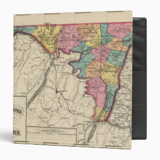 Topographical atlas of Maryland County 3 Ring Binder