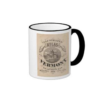 Topographical atlas ringer mug