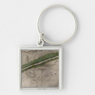 Topographical chart of the battlefield of the Litt Keychain