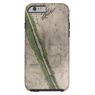 Topographical chart of the battlefield of the Litt Tough iPhone 6 Case