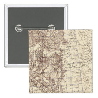Topographical Map of Mississippi River Pin
