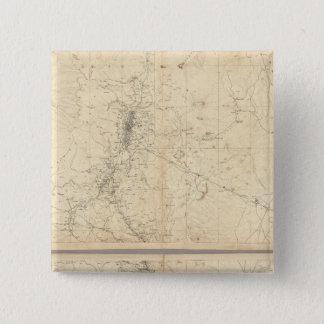 Topographical Map of Washoe Mining Region Button