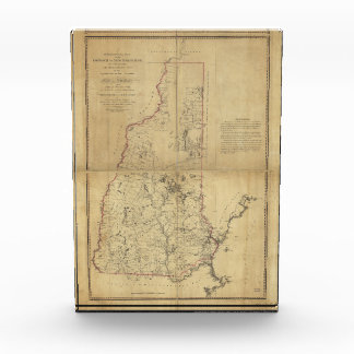 Topographical Map Province of New Hampshire (1784) Award