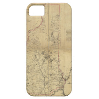 Topographical Map Province of New Hampshire (1784) iPhone 5 Case