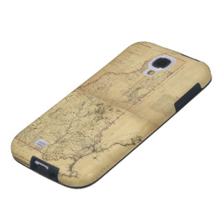 Topographical Map Province of New Hampshire (1784) Galaxy S4 Case