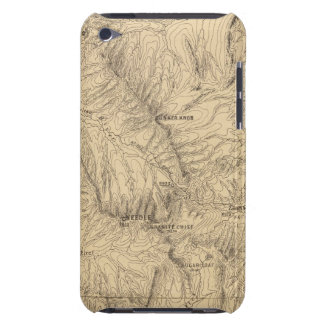 Topography TruckeeDonner Pass Region, California iPod Touch Case-Mate Case