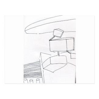Topológico lógico en el extracto 3D Postal