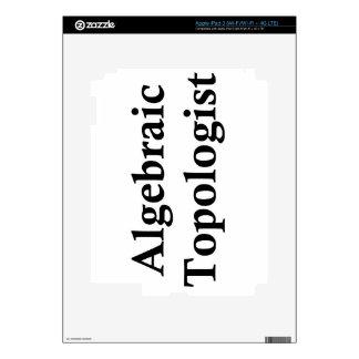 Topologist algebraico iPad 3 skin