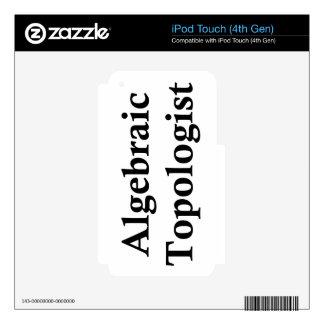 Topologist algebraico iPod touch 4G calcomanías