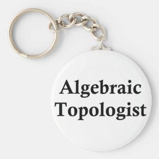 Topologist algebraico llavero redondo tipo pin