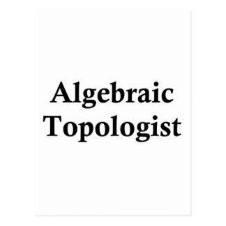 Topologist algebraico tarjeta postal