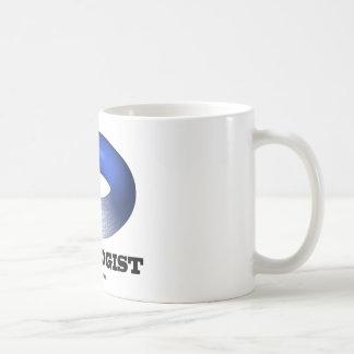 Topologist (Blue Toroid) Coffee Mug