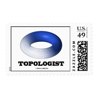 Topologist (Blue Toroid) Stamp