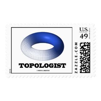 Topologist (toroide azul) sello