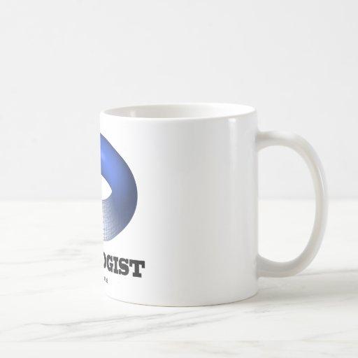 Topologist (toroide azul) taza clásica