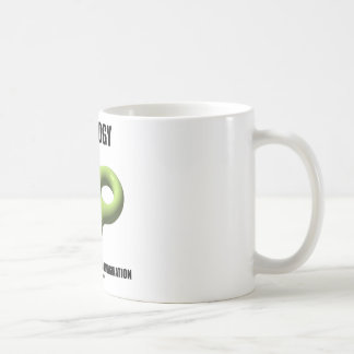 Topology Requires A Twisted Imagination (Toroid) Coffee Mug