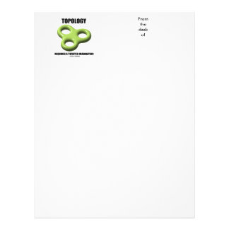 Topology Requires A Twisted Imagination Toroid Letterhead