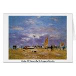 Topos de Deauville de Eugene Boudin Felicitacion
