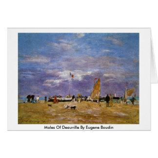 Topos de Deauville de Eugene Boudin Tarjeta De Felicitación