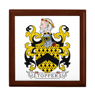 Topper Coat of Arms Keepsake Boxes