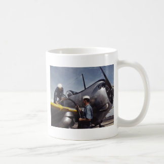 Topping Off The Tanks, 1942 Classic White Coffee Mug