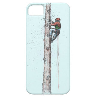 Topping out Arborist Tree Surgeon Stihl iPhone SE/5/5s Case