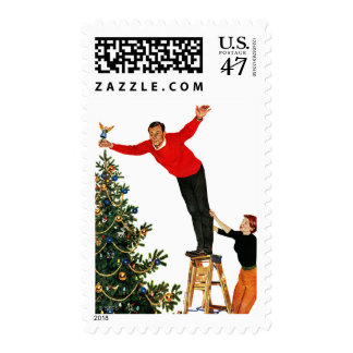 Topping the Tree Postage