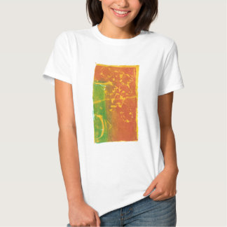 Toppling Flowers Tee Shirts
