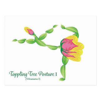 (Toppling Tree Posture I) Postcard