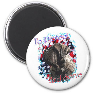 ToProtectandServe 2 Inch Round Magnet