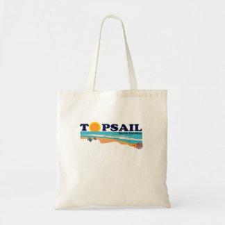 Topsail Beach. Tote Bags