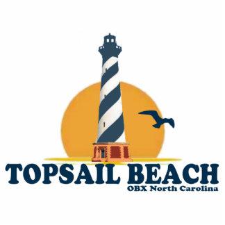 Topsail Beach. Photo Sculpture