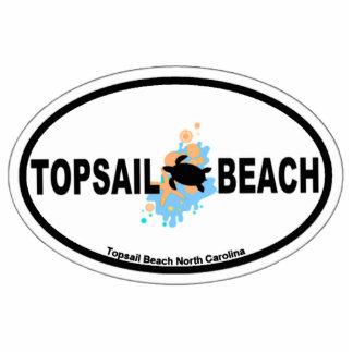 Topsail Beach. Statuette