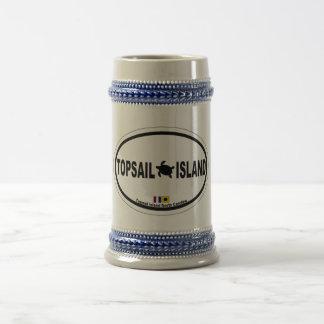 Topsail Island. Beer Stein