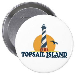 Topsail Island. Button