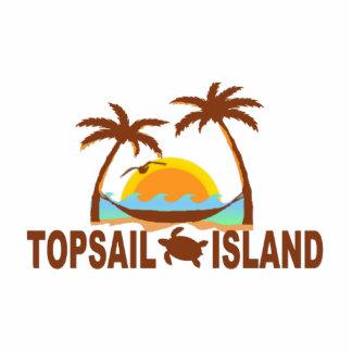 Topsail Island. Cutout
