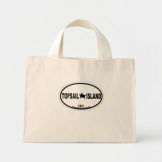 Topsail Island. Mini Tote Bag