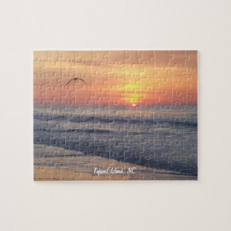 Topsail Island, NC Puzzle, Jigsaw Puzzle