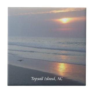 Topsail Island, NC Trivet/Tile