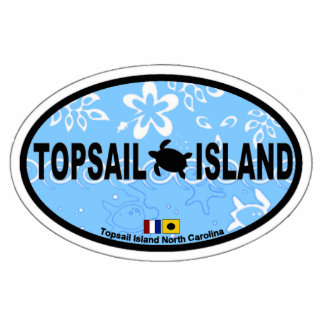 Topsail Island. Photo Cutouts