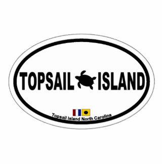 Topsail Island. Statuette
